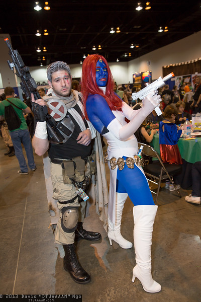 Cable and Mystique