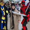 Cyclops, Gambit, and Deadpool