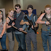 Michonne, Andrea, Governor, Glenn Rhee, and Daryl Dixon