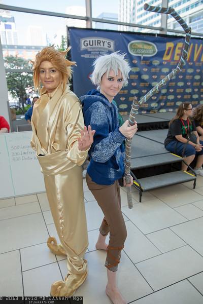 Sandman and Jack Frost