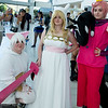 Cake, Fionna, Prince Gumball, and Lord Monochromicorn