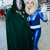 Dr. Doom and Invisible Woman