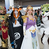 Links, Midna, and Princess Zelda