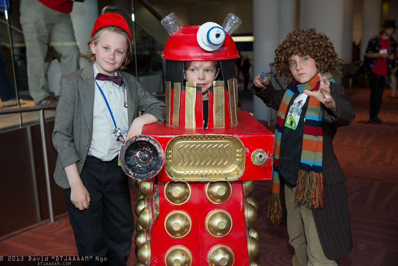 Doctor Whos and Dalek