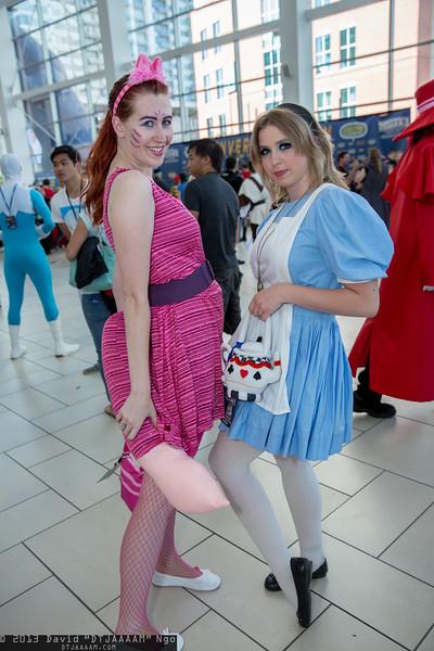Cheshire Cat and Alice