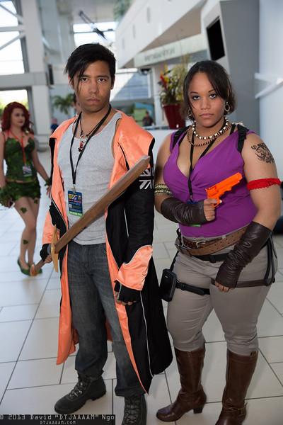 Dante and Sheva Alomar