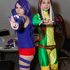 Psylocke and Rogue