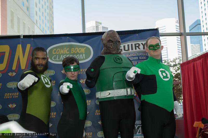 Green Lanterns and Kilowog