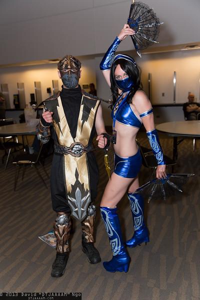 Scorpion and Kitana