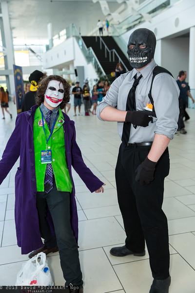 Joker and Black Mask