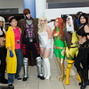 Storm, Jubilee, Gambit, Emma Frost, Phoenix, Rogue, and X-23