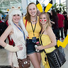 Catgirl, Misty, and Pikachu