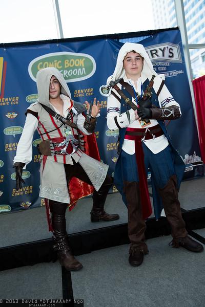 Ezio Auditore da Firenze and Connor Kenway