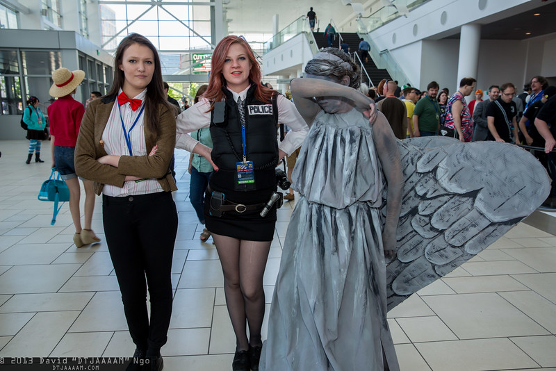 Doctor Who, Amy Pond, and Weeping Angel