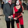 Clown and Harley Quinn