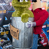 Oscar the Grouch and Garbage Man