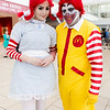 Wendy and Ronald McDonald