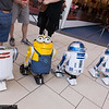 R2 Droid, Minion, and R2-D2s