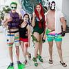 Joker, Harley Quinn, Poison Ivy, and Bane
