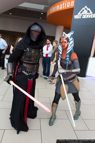 Darth Revan and Ahsoka Tano