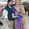 Flynn Rider and Rapunzel