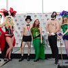 Joker, Harley Quinn, Penguin, Poison Ivy, Bane, and RIddler
