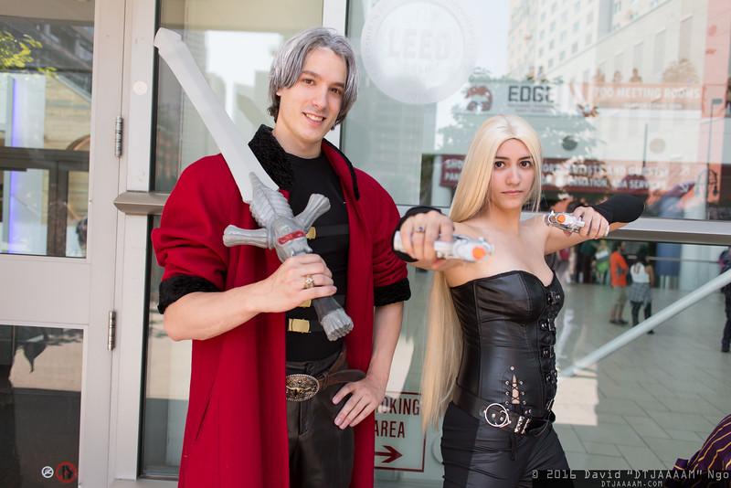 Dante and Trish