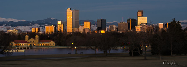 Denver Colorado Skyline - Taken by Elizabeth Linderman