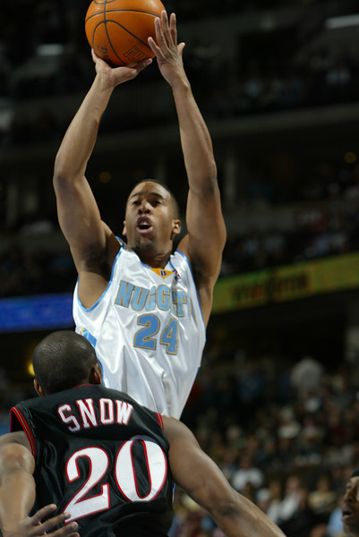February 17, 2004: Andre Miller of the Denver Nuggets during the 106-85 victory over the Philadelphia 76ers at the Pepsi Center in Denver, Colorado. Mandatory Credit/ Icon SMI