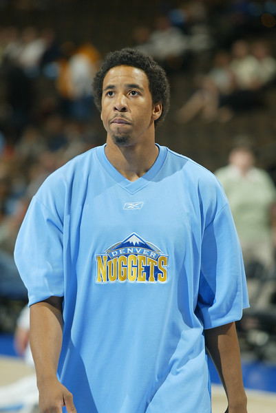 October 9, 2003: Anthony Miller of the Denver Nuggets during the 113-100 preseason victory over the Phoenix Suns at the Pepsi Center in Denver,CO.<br /> Mandatory Credit/ Icon SMI