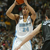 March 24, 2004: Anthony Miller of the Denver Nuggets during the 101-92 victory over the Minnesota Timberwolves at the Pepsi Center in Denver, Colorado. Mandatory Credit/ Icon SMI