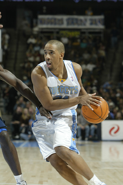 November 28, 2003:Andre Miller of the Denver Nuggets during the 113-103 victory over the Dallas Mavericks at the Pepsi Center in Denver, Colorado. Mandatory Credit/Icon SMI