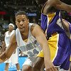 February 25, 2004: Andre Miller of the Denver Nuggets during the 112-111 loss to the Los Angeles Lakers at the Pepsi Center in Denver, Colorado. Mandatory Credit/Icon SMI