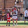 The MLL Major League Lacrosse play-off game between the Denver Outlaws and the Rochester Rattlers at Peter Barton Stadium at the University of Denver in Denver, Colorado.  Final score of the game was the Denver Outlaws - 15 and the Rochester Rattlers - 8.  By winning the game, the Denver Outlaws advance to the MLL Championship game in Frisco, Texas.