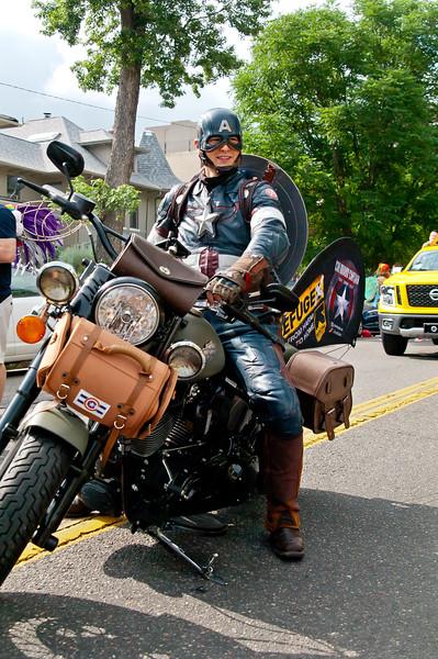 Colorado Captain America supports pride!<br /> <br /> coloradocaptain.com<br /> FB: ColoradoCaptain<br /> @Colorado_Cap