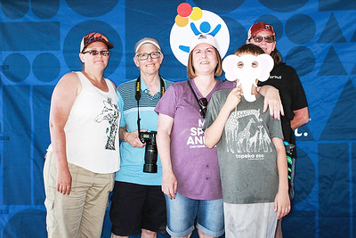 Children's Hospital Cheyenne Mountain Zoo Missy's 50th Birthday-Denver Photo Booth Rental-SocialLightPhoto com-168