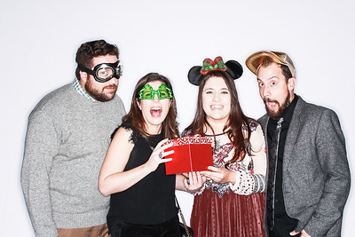 CorePower Yoga Holiday Party at Bigsby Folly-Denver Photo booth Rental-SocialLightPhoto com-13