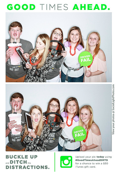Eaglecrest High School Ditch the Distractions-Boulder Photo Booth Rental-SocialLightPhoto com