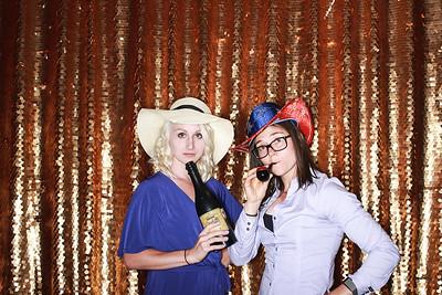 Ericka & Caleb at the Born Hotel-Denver Photo Booth Rental-SocialLightPhoto com