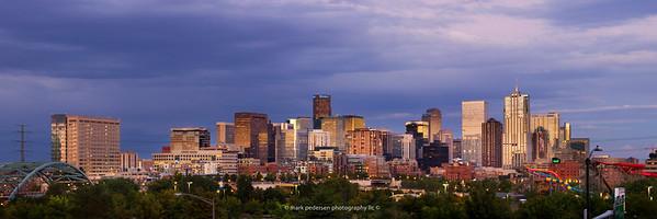 10x30 / 12x36 format Panorama, Denver Colorado