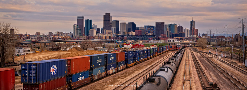 Denver Train yard