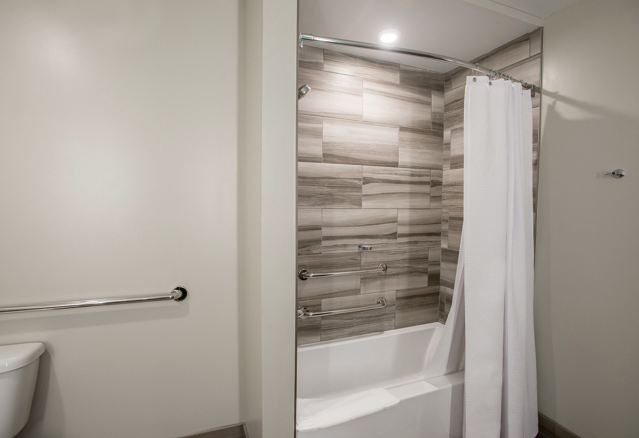 Deluxe King Accessible Bathroom