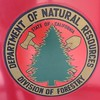 Red Tomato Logo, Division of Forestry, Dept of Natural Resources