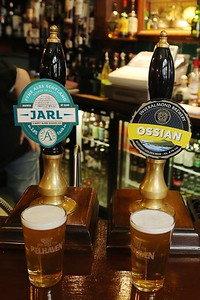 Fyne Ales Jarl and Inveralmond Brewery Ossian at Betty Nicols, Kirkcaldy