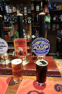Plain Ales India Plain Ale 5.2% Flying Monk Brewery Jackdaw Porter 4.3%