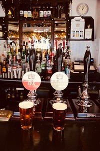 Cornish Crown Brewery SPA 4.8% and Causeway 4.2% at The Crown, Penzance