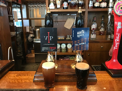 Tryst VIP 4.5% North Brewing Co Full Fathom 5 5.5% at the Tap