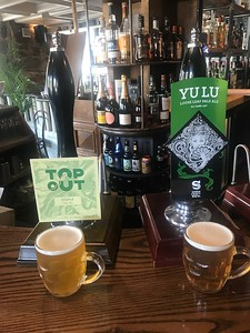 Top Out Staple 4.0% Pale Ale Siren Yulu Loose Leaf Pale Ale  3.6% at No1 Grange Loan