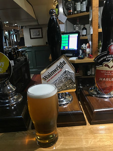 Wainwright 4.1% at the Moon Inn Stoney Stratford