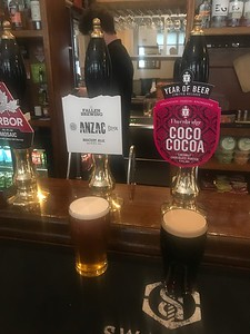 Fallen Brewery Anzac Biscuit Ale 6.2% Thornbridge Coco Cocoa 5.5% Coconut Chocolate Porter